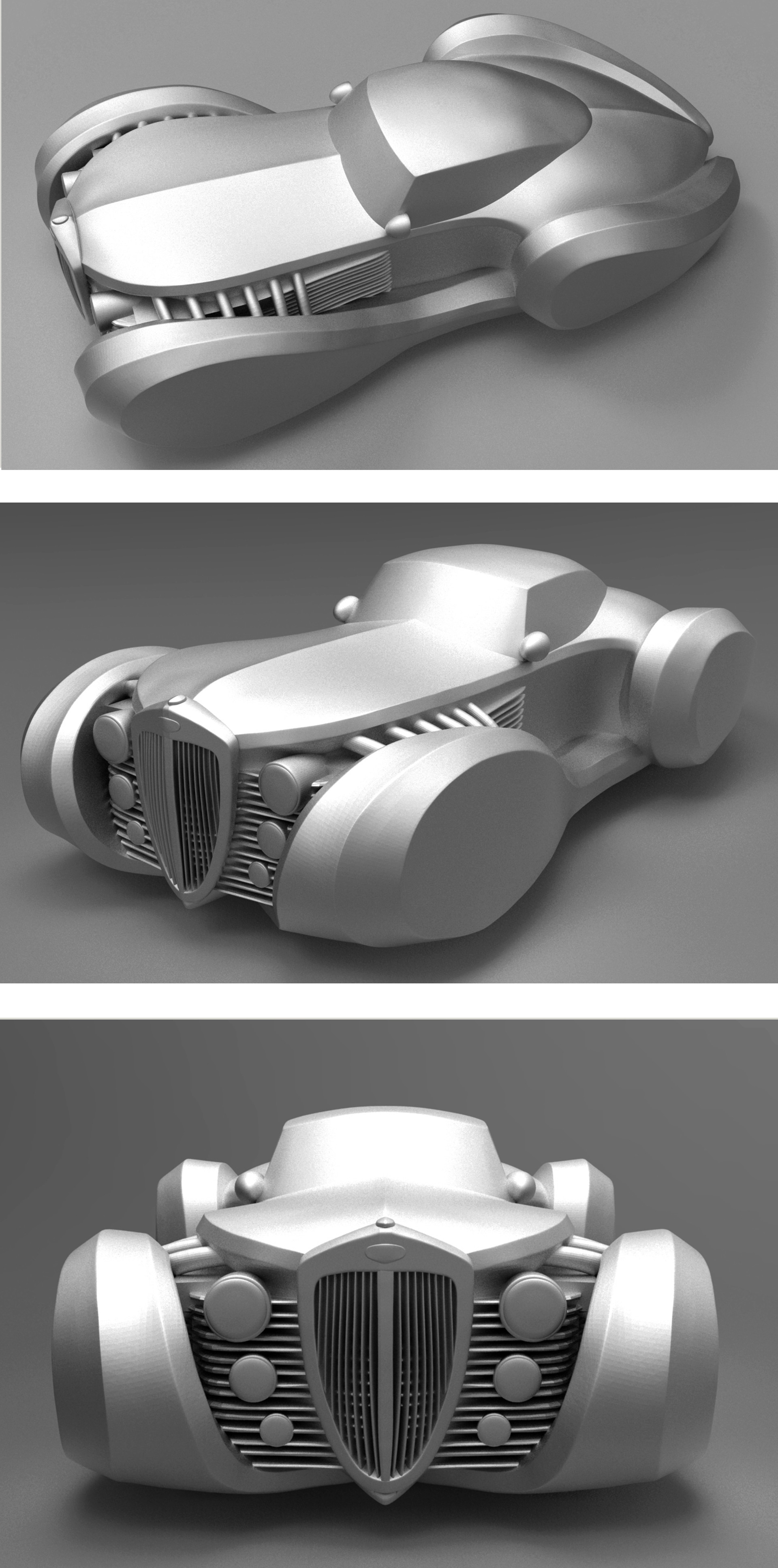 Bradley morgan johnson roadster concept 3 shots