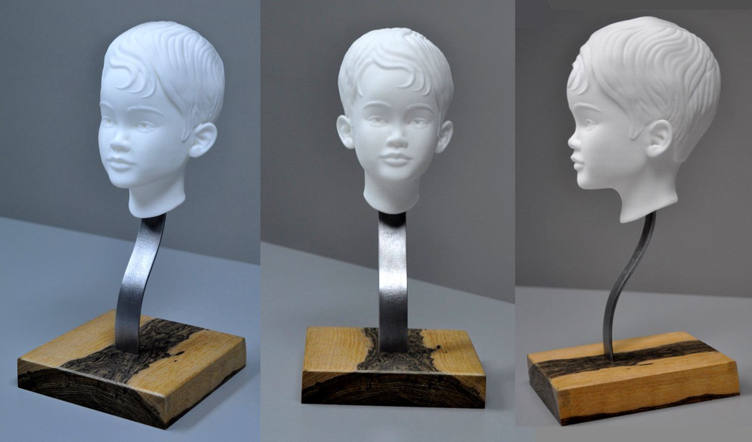 Bradley morgan johnson achie bust 3d print