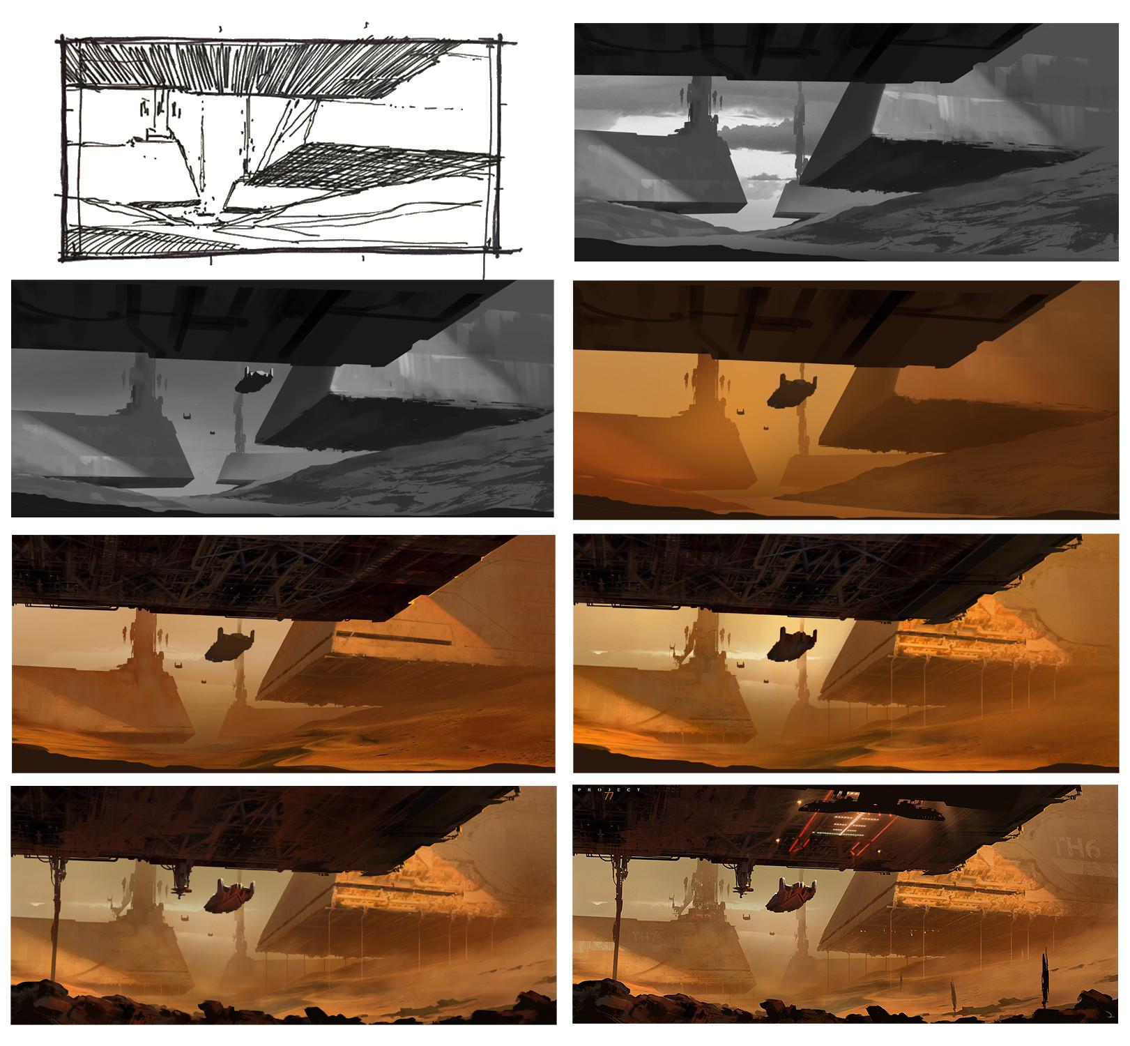 Martin deschambault project 77 sand monolith wip