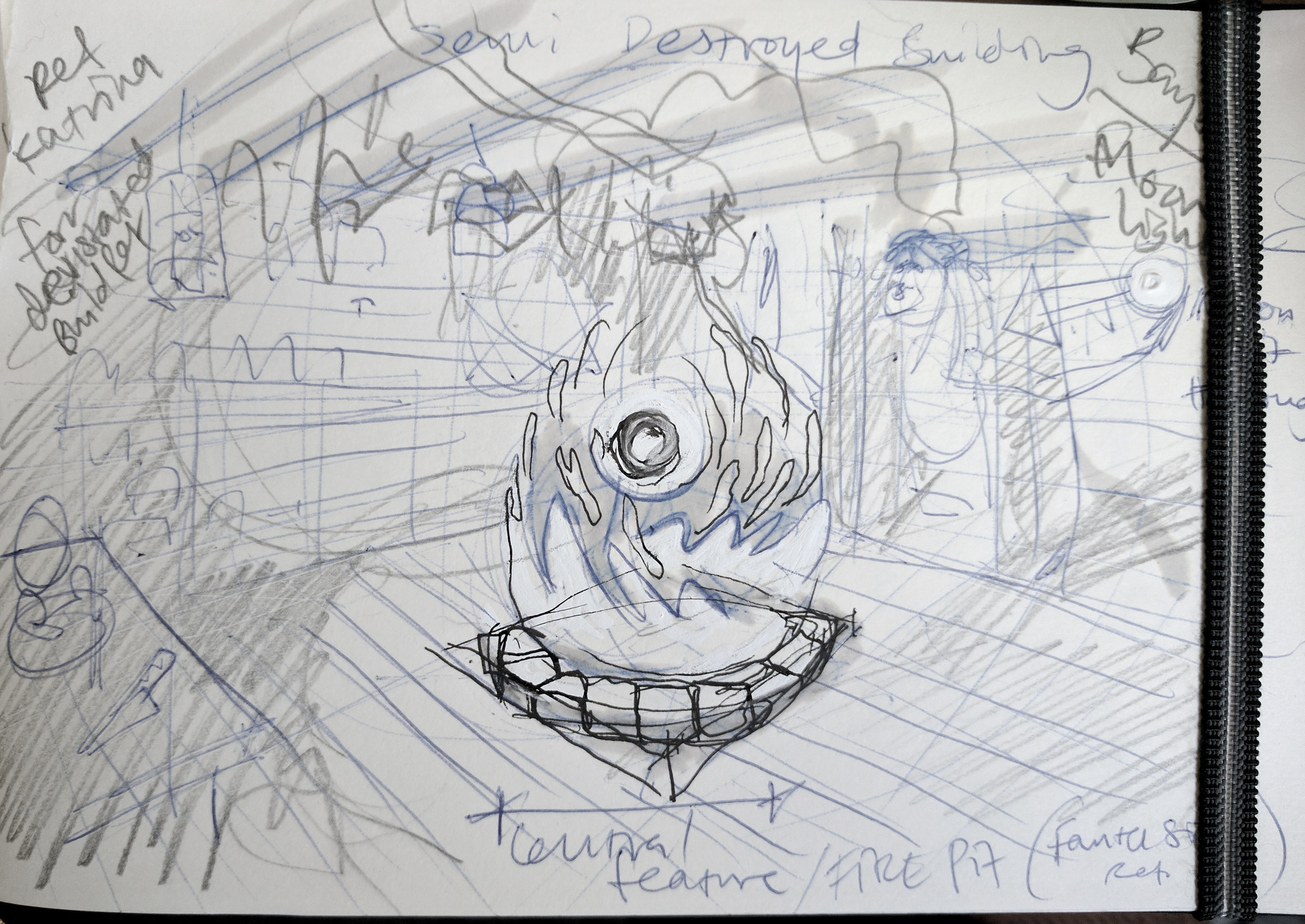 Initial thumb sketch