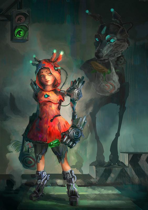 Cyborg fairy tales