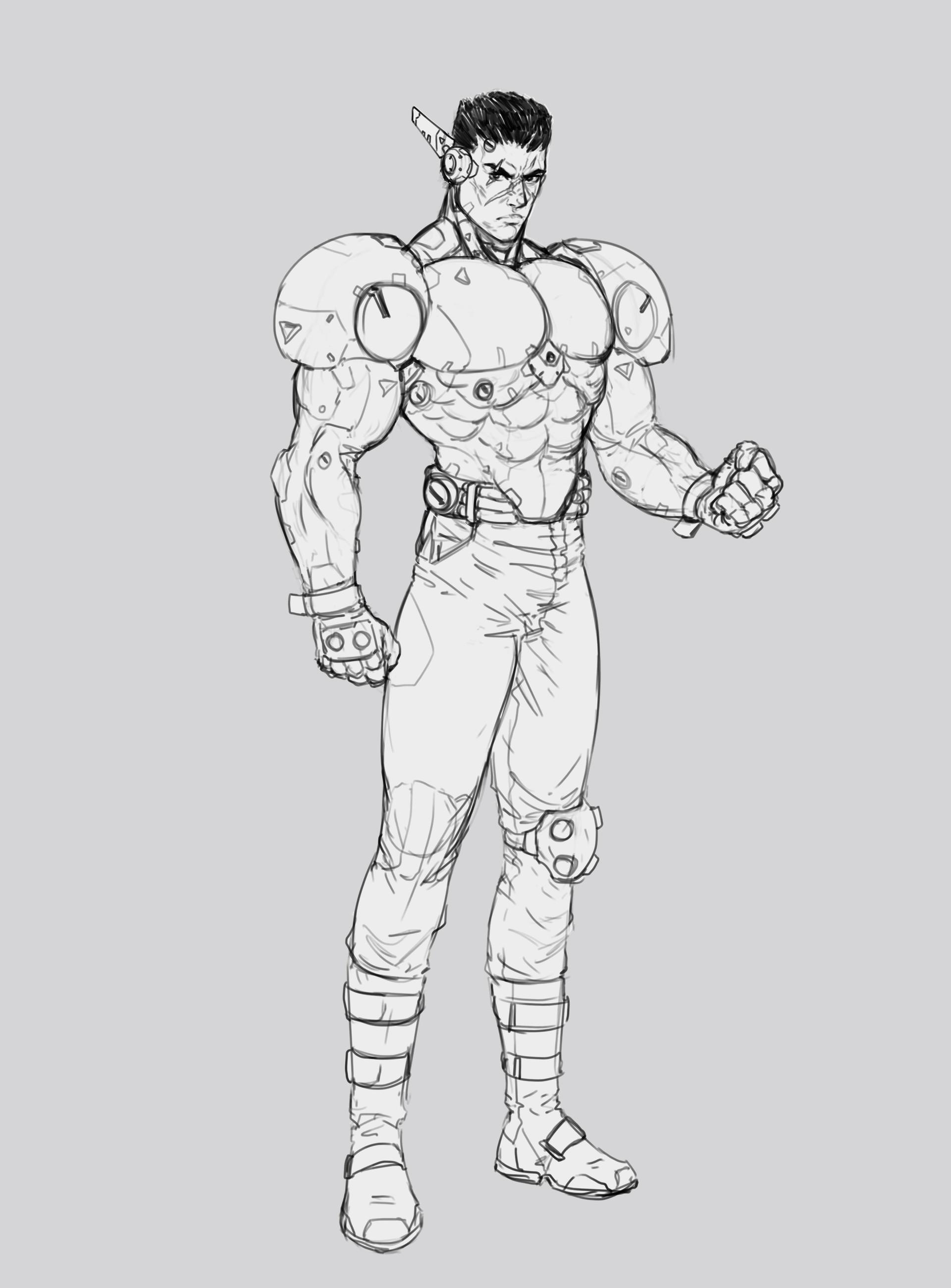 Salvador trakal sketch90d