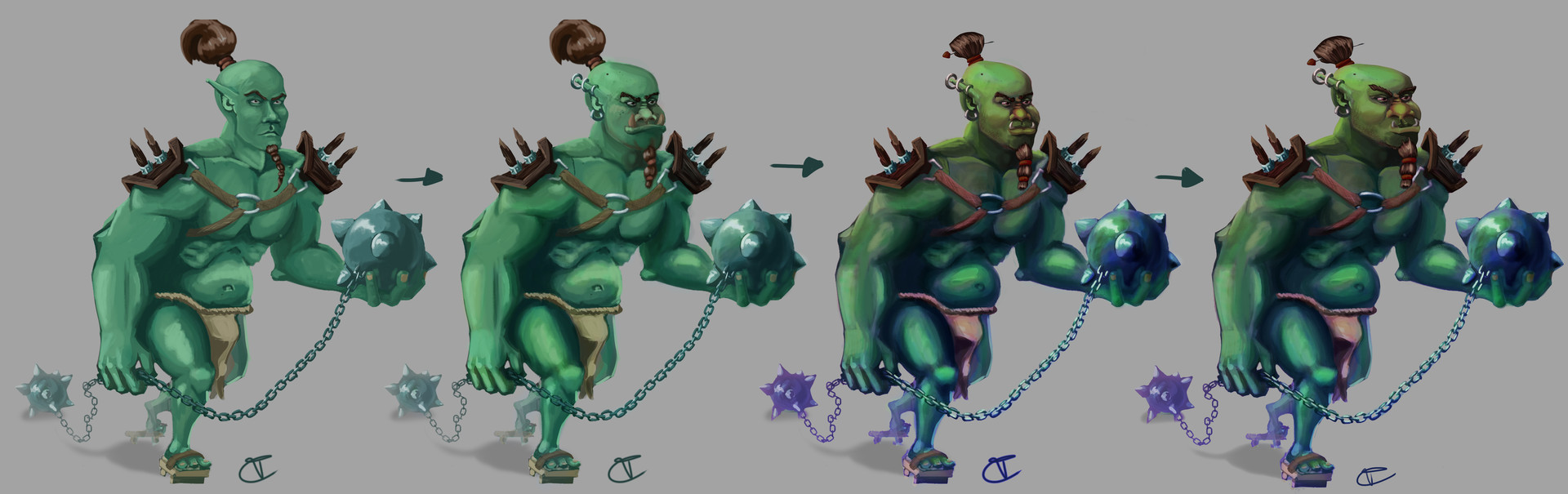 Travis clarke ogre progression