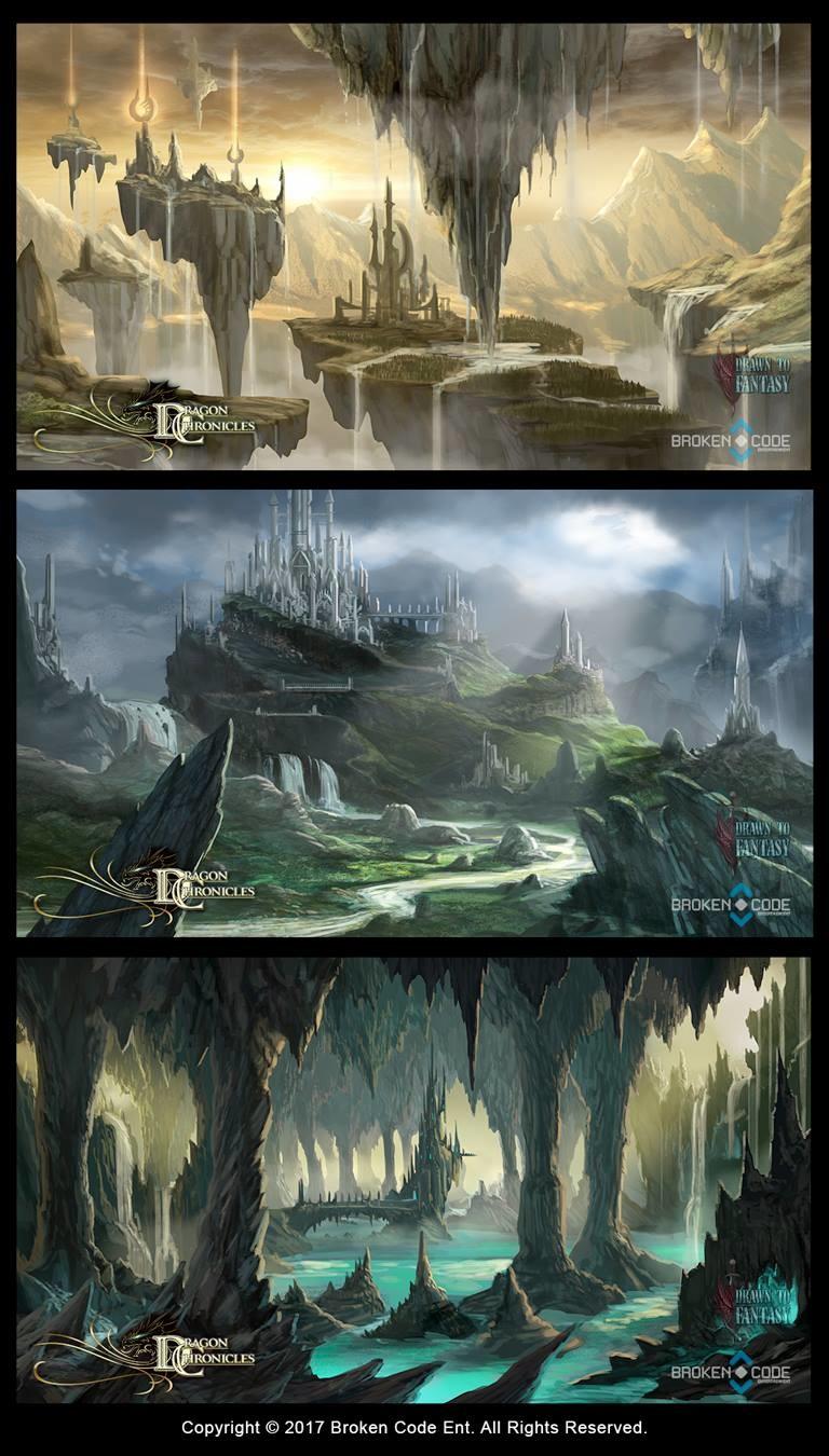 Mobile Maps - Dragon Chronicles