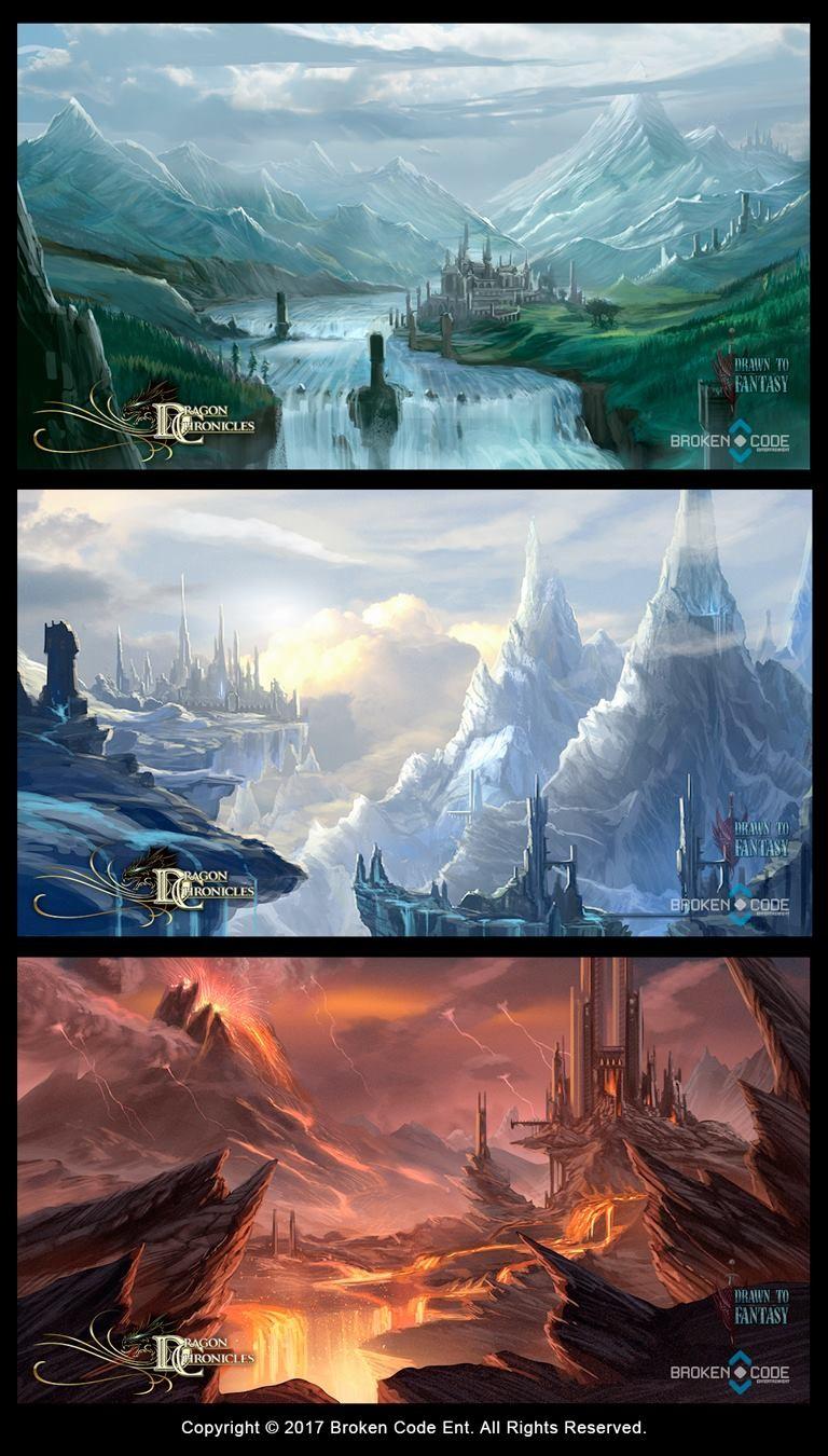 Robert crescenzio dragonchronciles maps 2