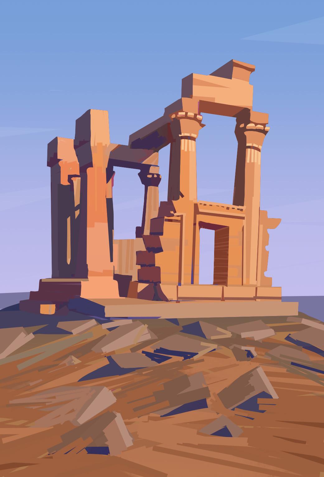 Harrison yinfaowei egypt kiosk of qertass