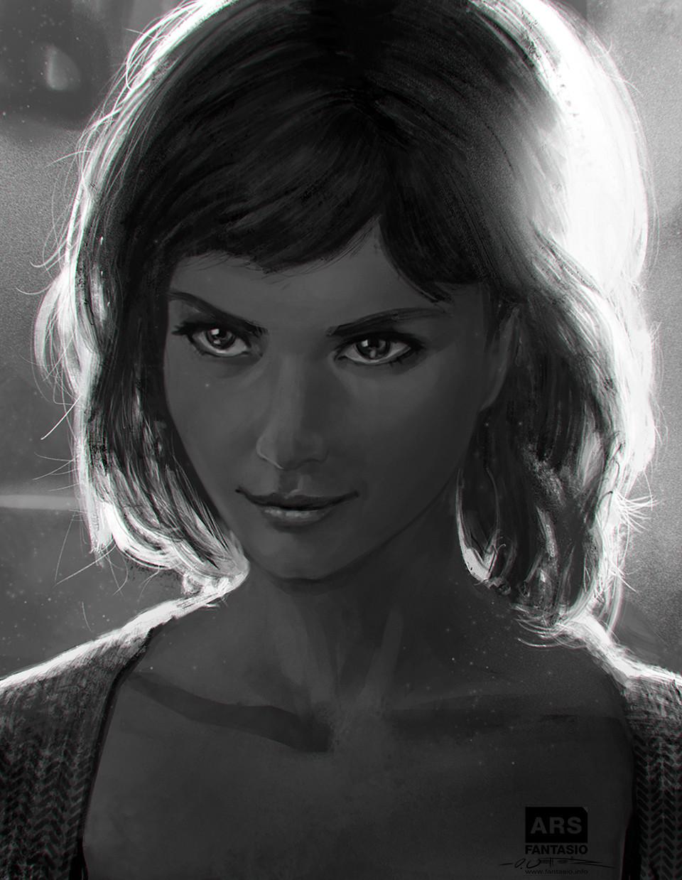 Lucia Portrait Study