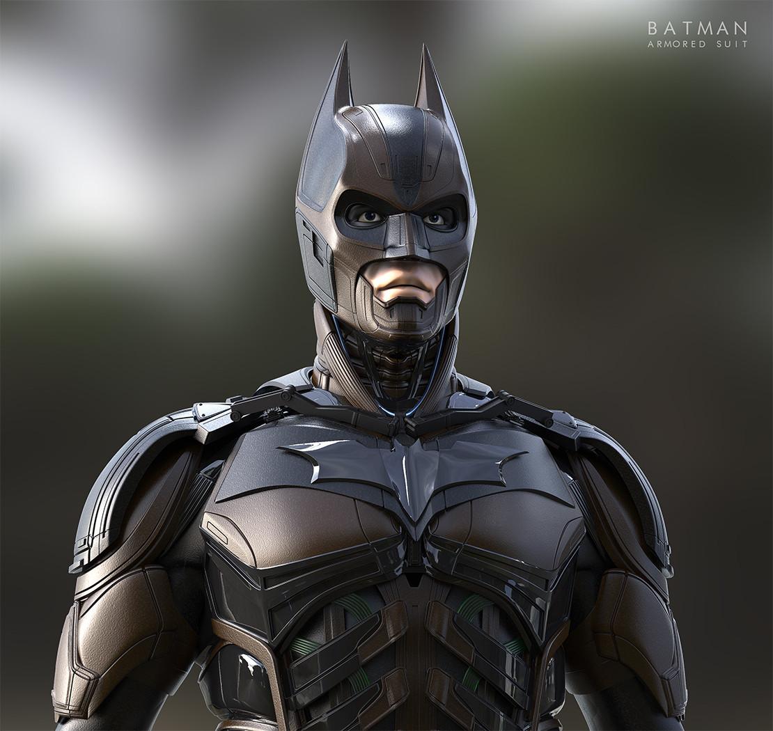Batman Suit: Batman (Injustice) Armored Suit