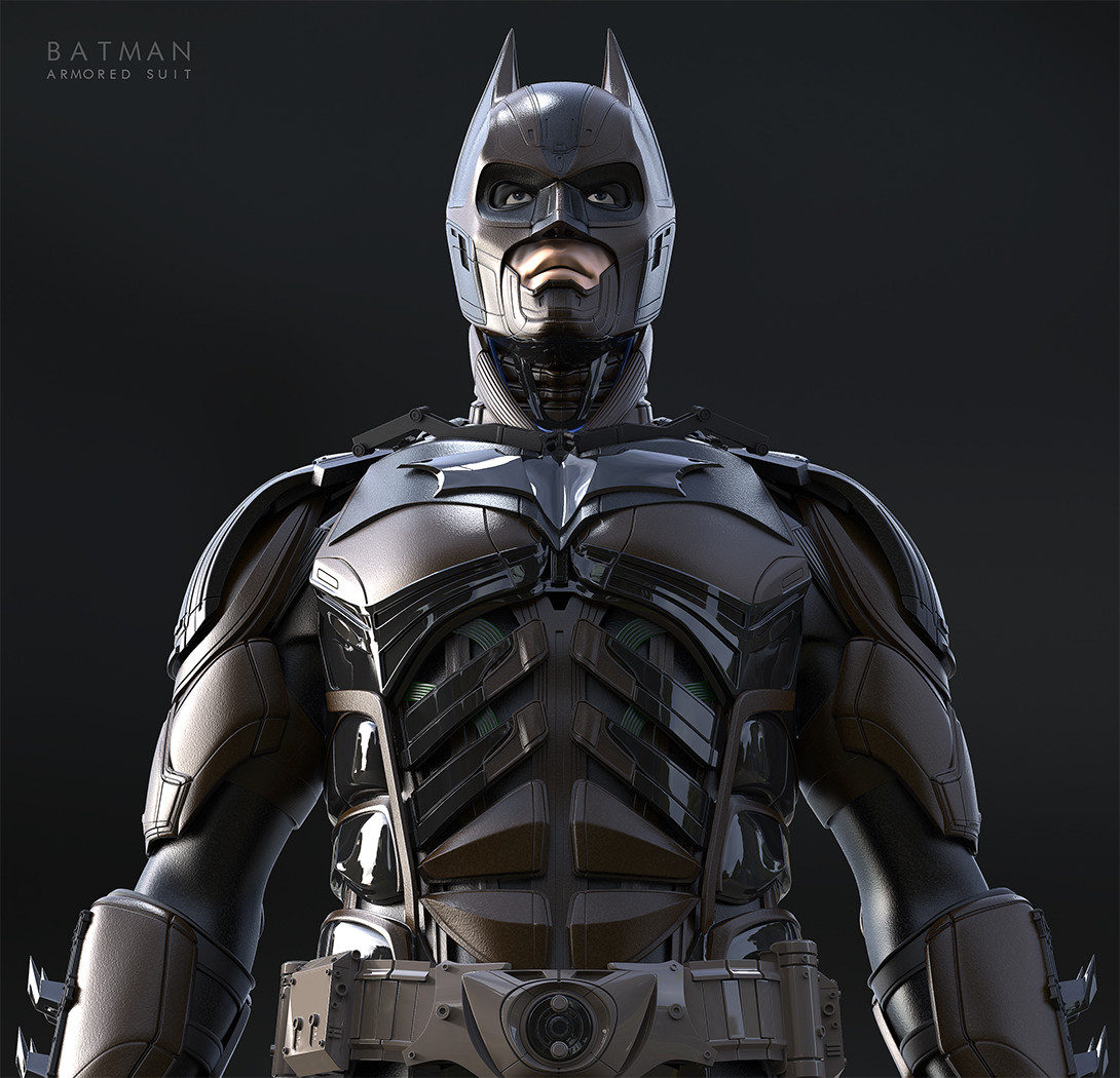christophe lacaux batman injustice armored suit