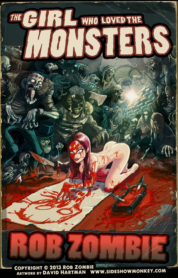 David hartman the girl who loved the monsters by hartman by sideshowmonkey d79uek5