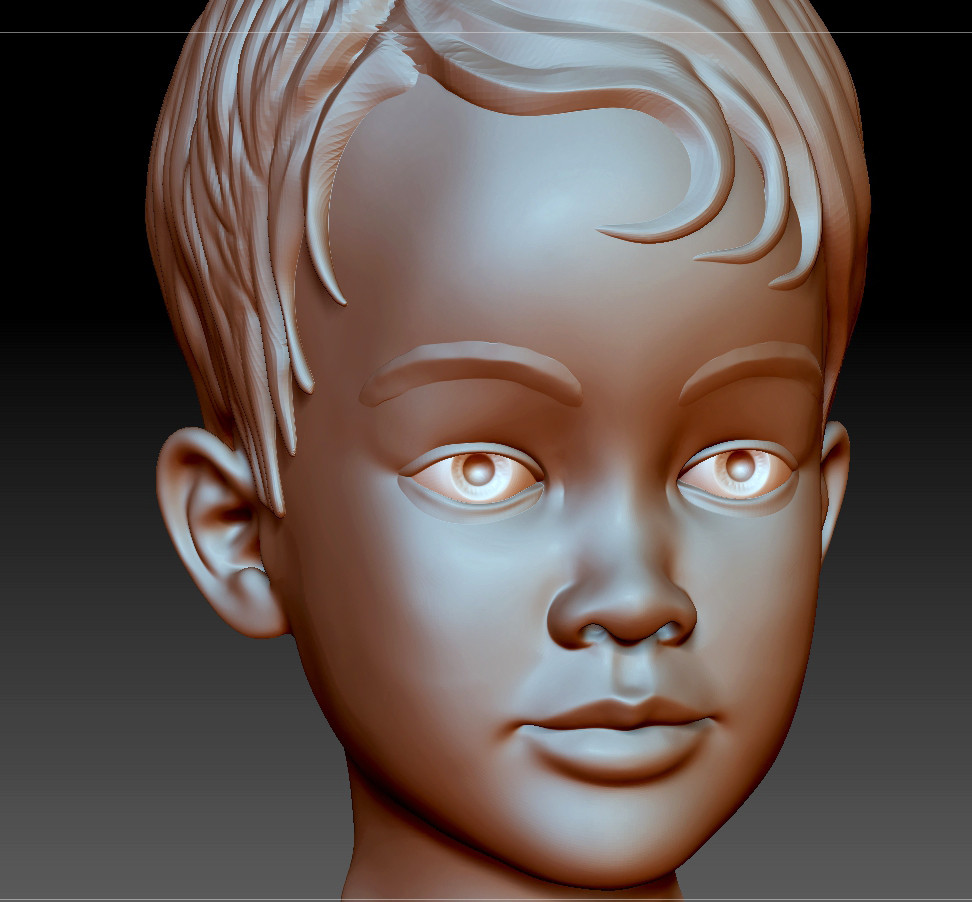 Final Z Brush Sculpt