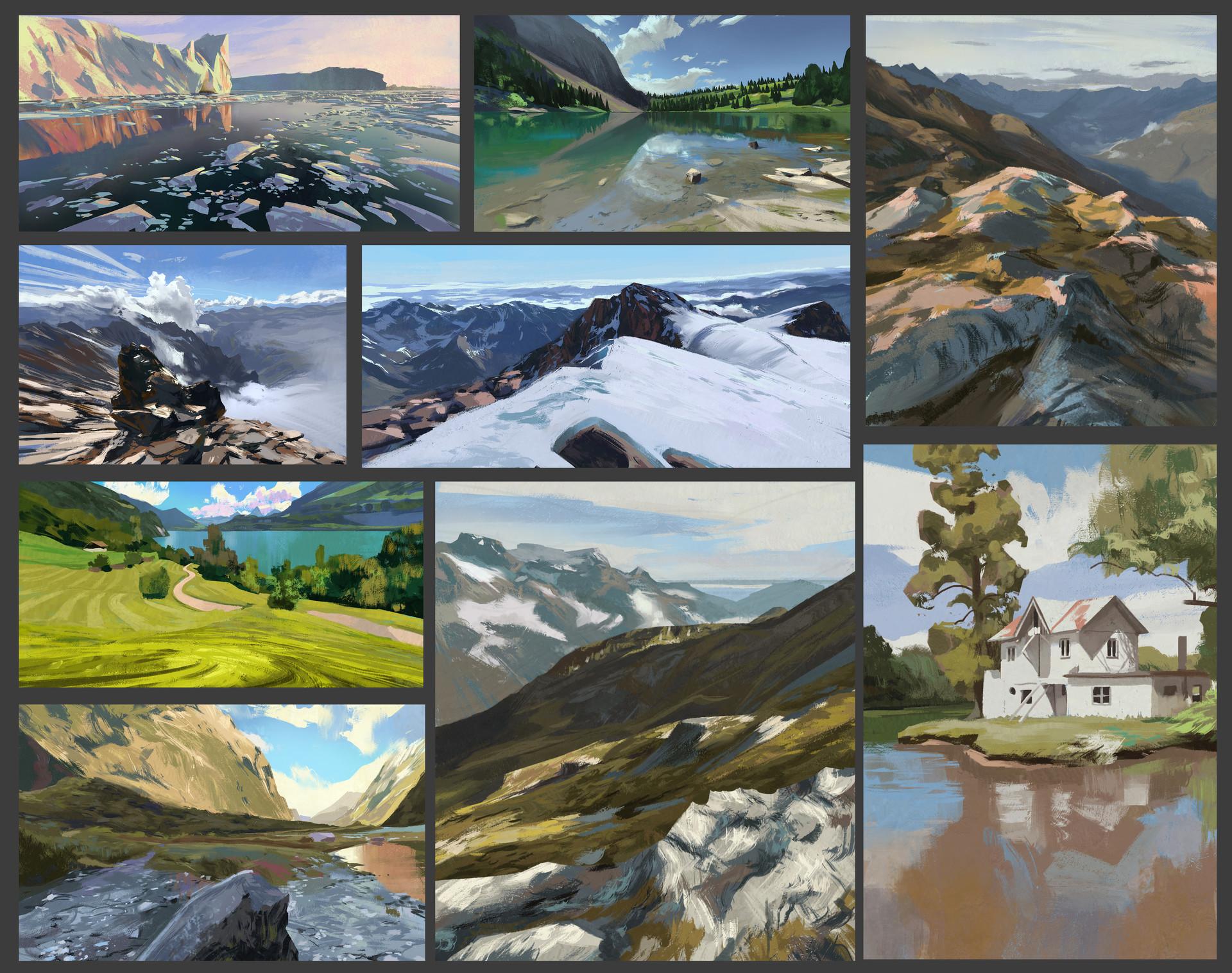 Quentin regnes virtual plein air mozaic