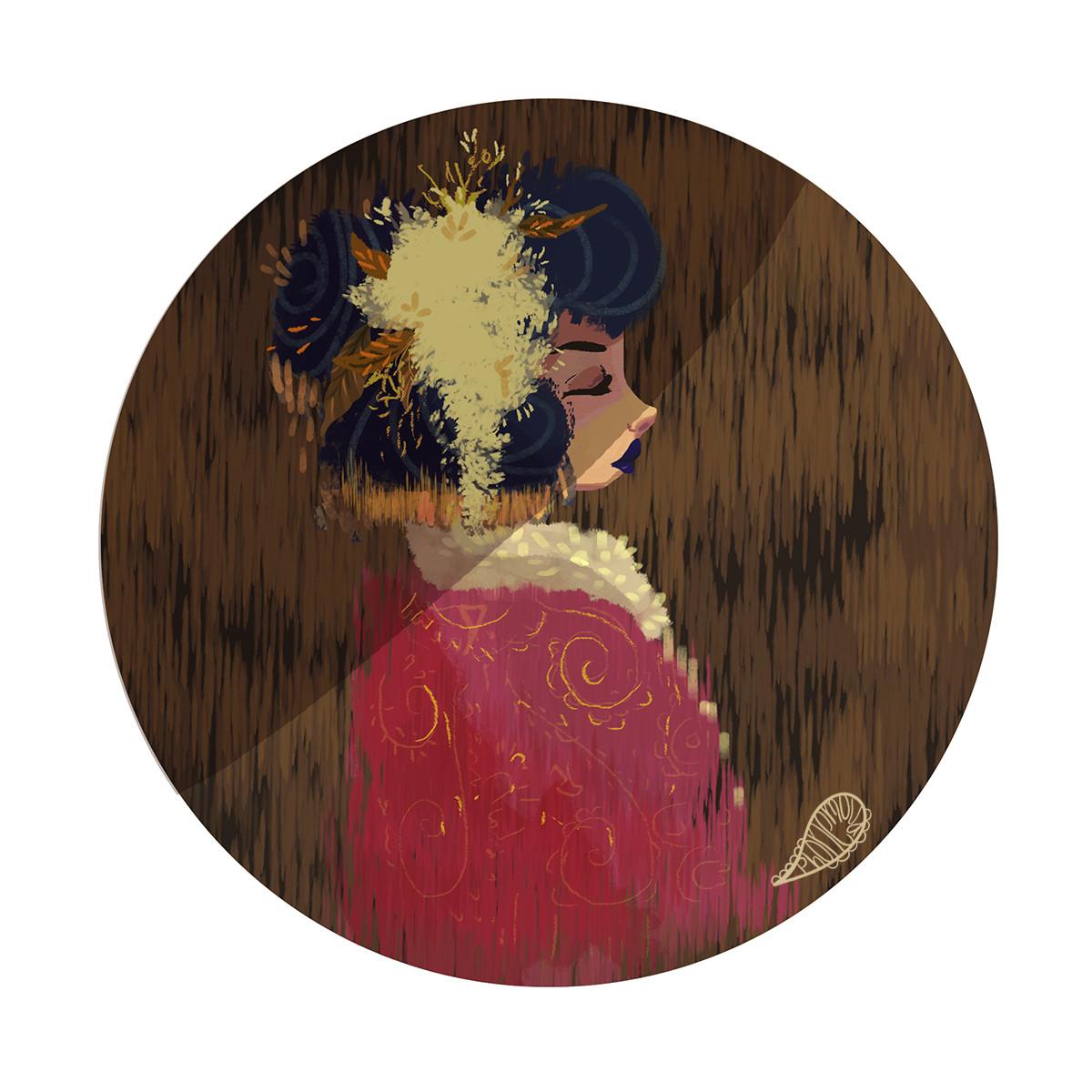 Vanessa morales geisha doodle