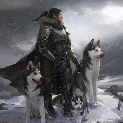 Steve wang mother of huskies