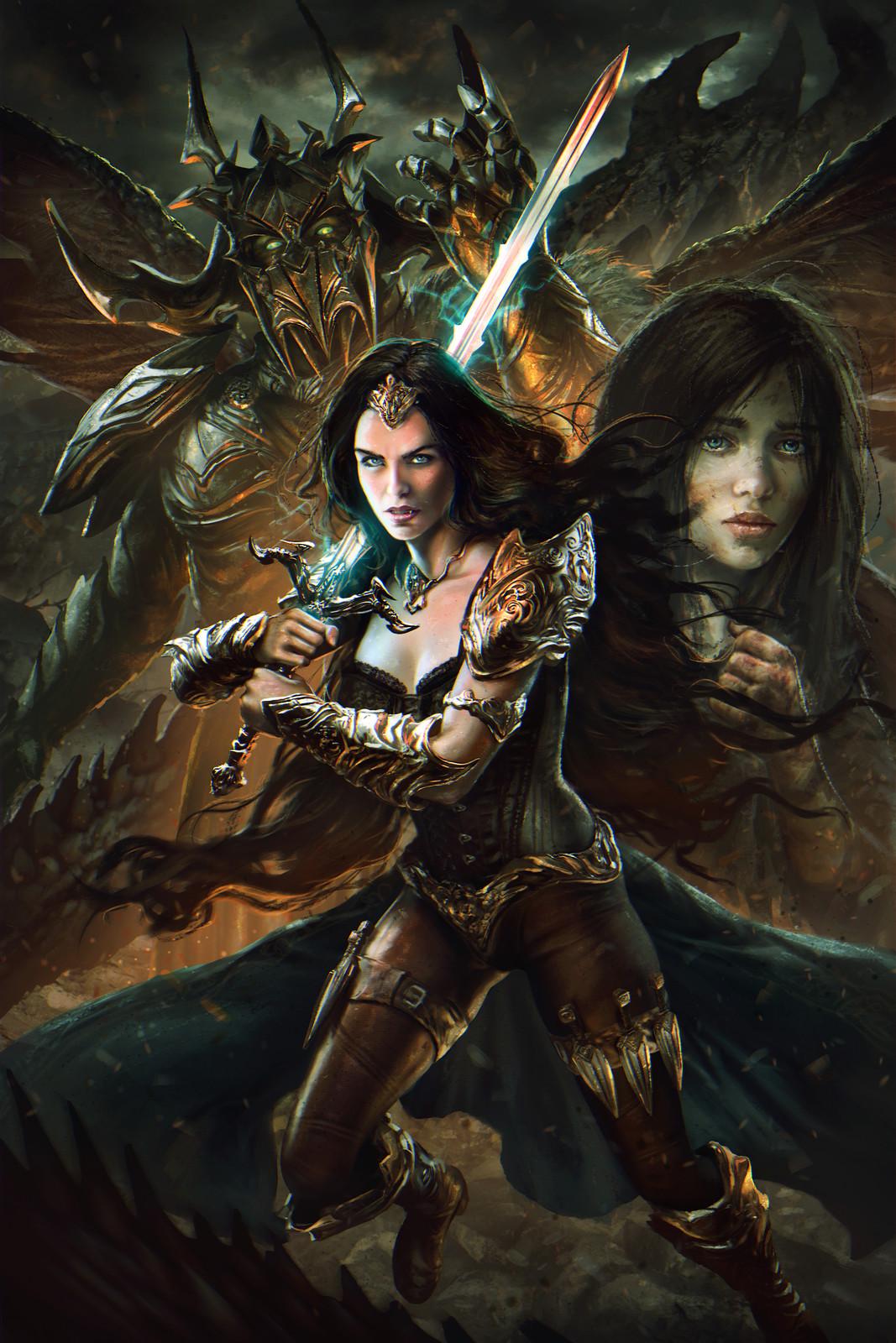 Legends of Marithia: Prophecies Awakening -Cover
