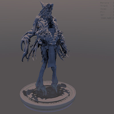 Arseniy korablev alien shaman tall 1