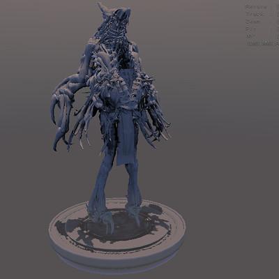 Arseniy korablev alien shaman tall 1