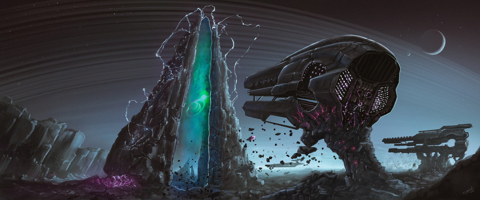 """Spaceships """"Invader"""""""