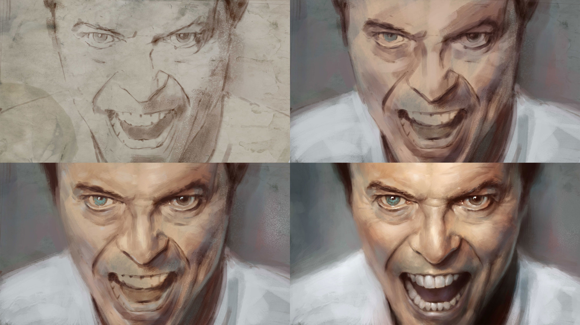 Pascal quidault david bowie wip