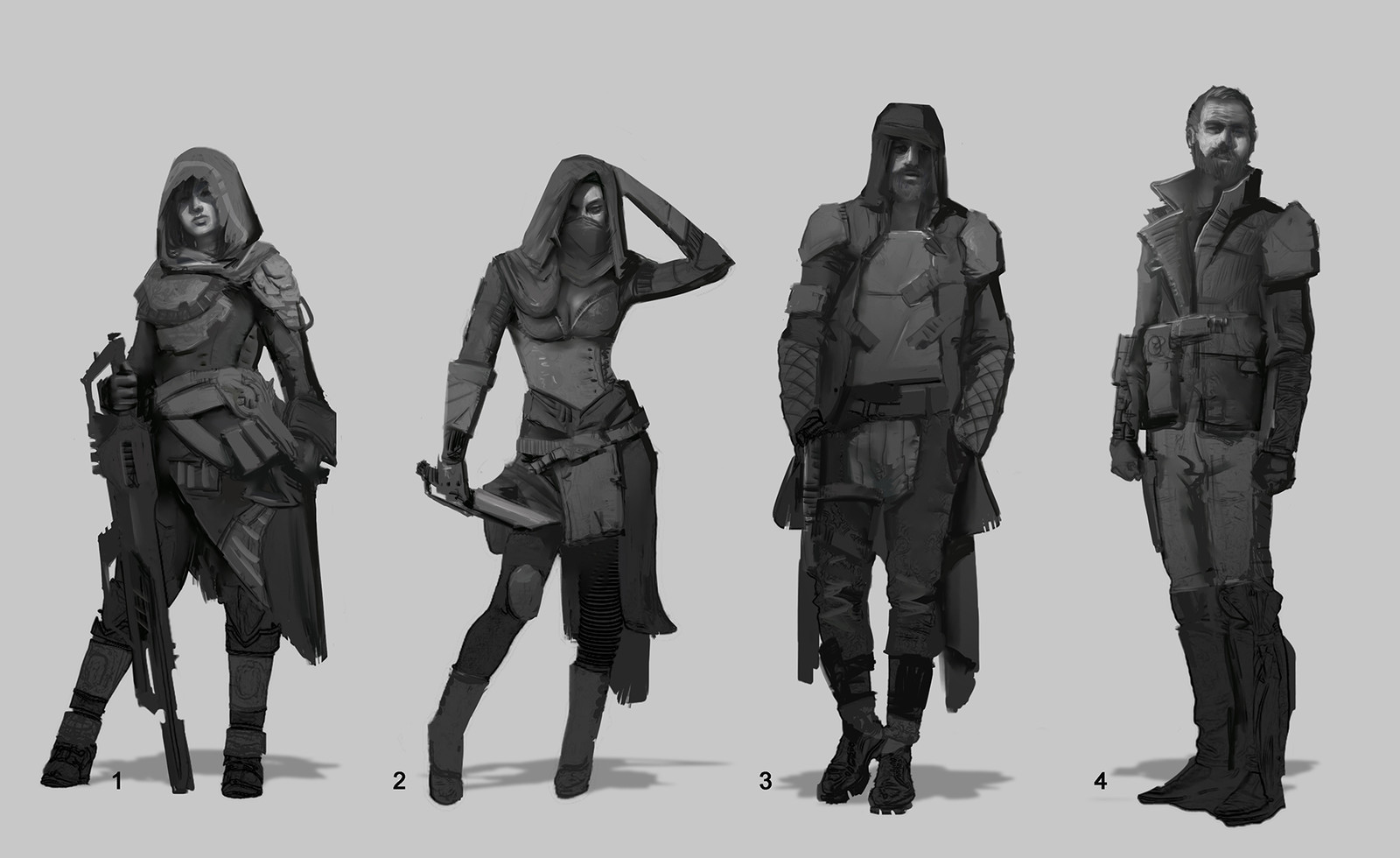 Scavengers sketches