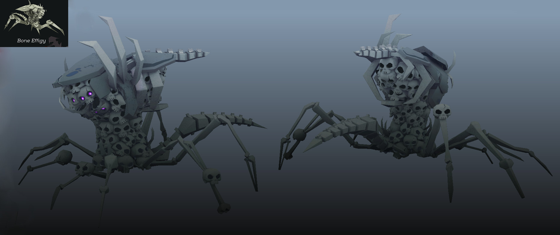 I Made All Of The Skeleton Type Creatures In Necropolis This One Was By Far My Favorite And A Lot Fun To Make