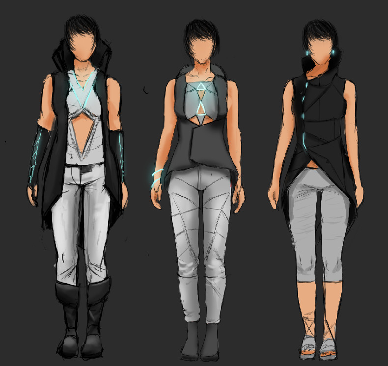 sebastian gothe futuristic clothes