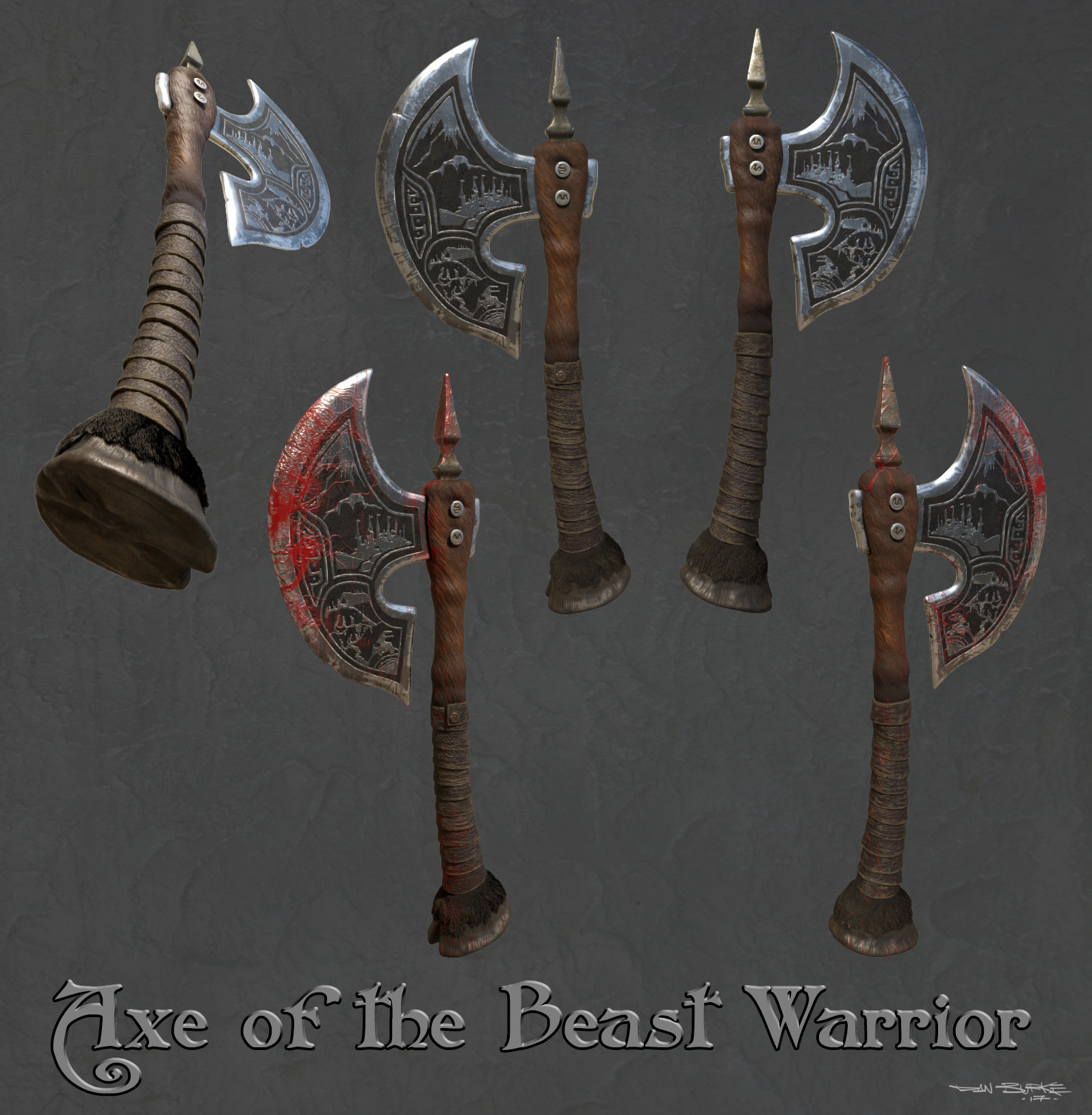 Axe of the Beast Warrior