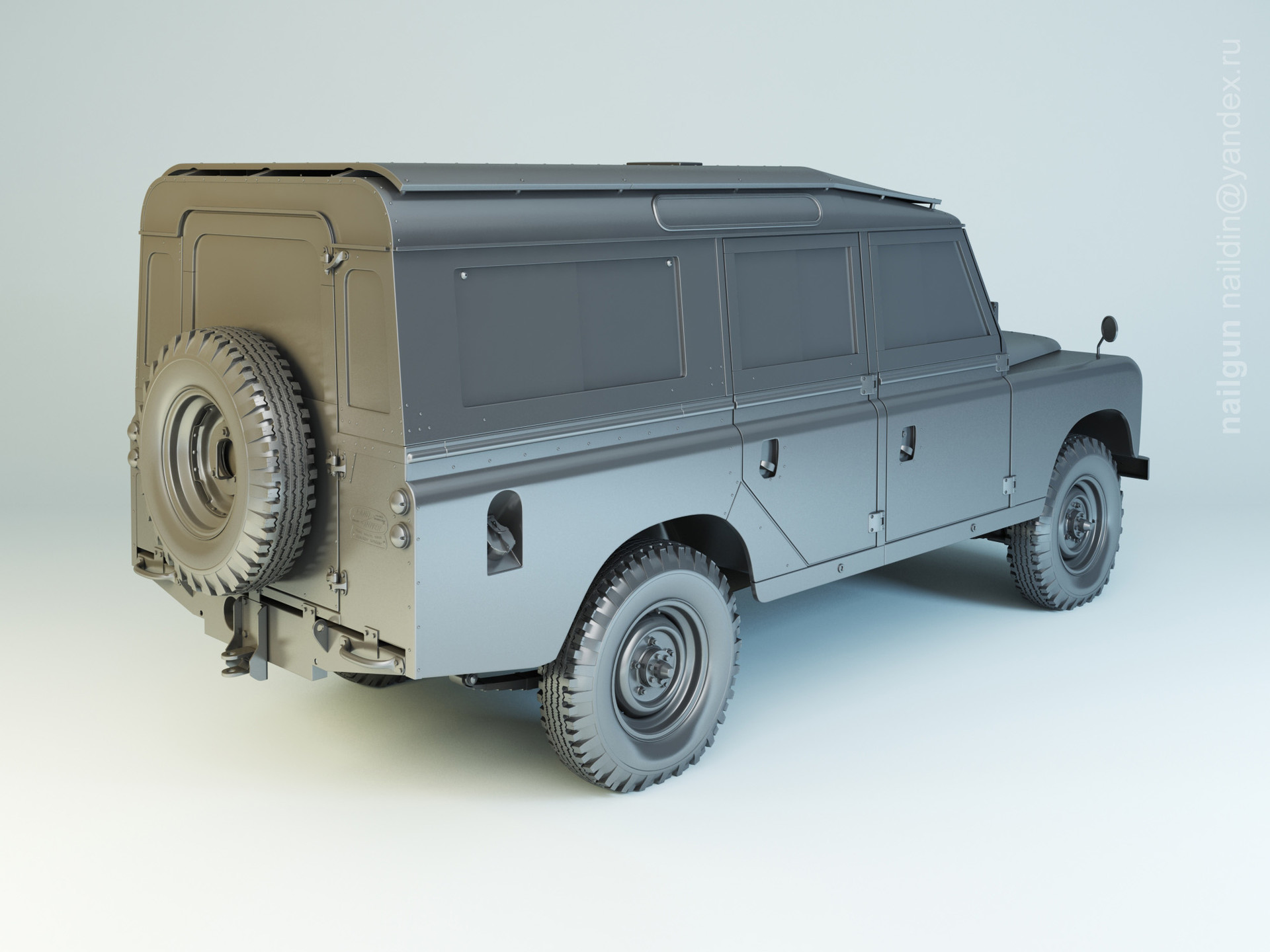 Nail khusnutdinov 005 land rover defender 109 modelling 1