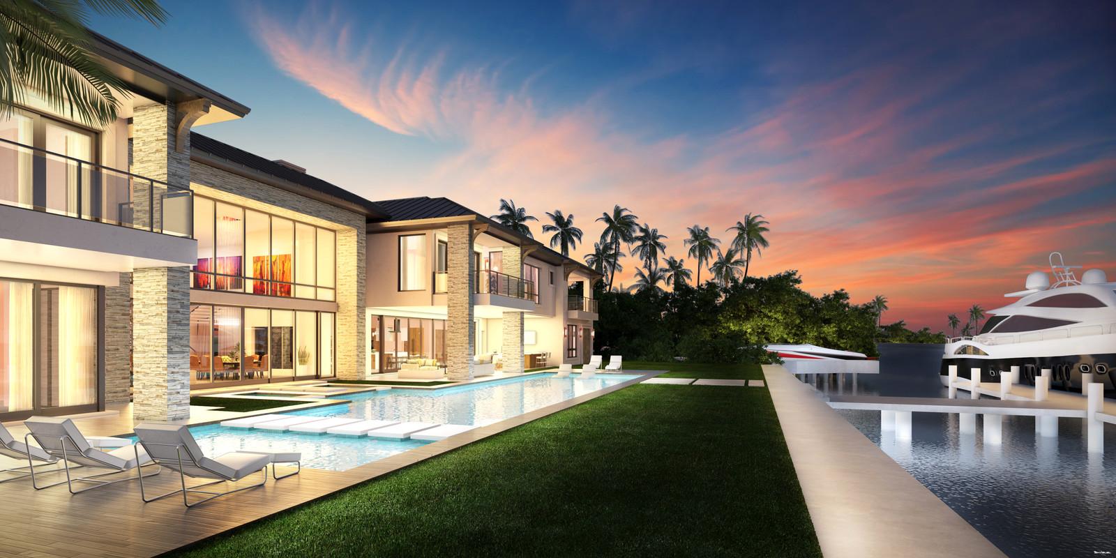 South Floridan Home