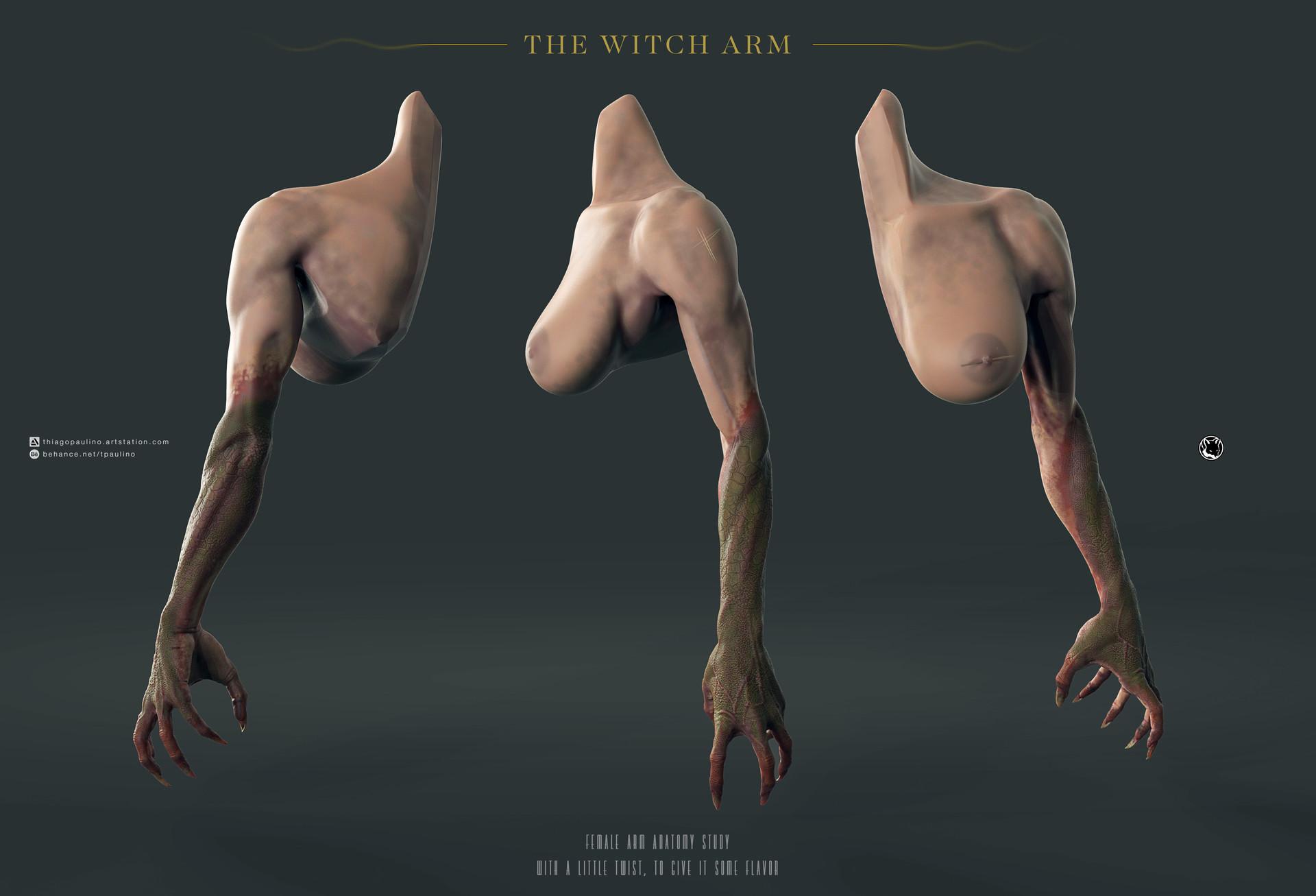Thiago Paulino - The Witch Arm
