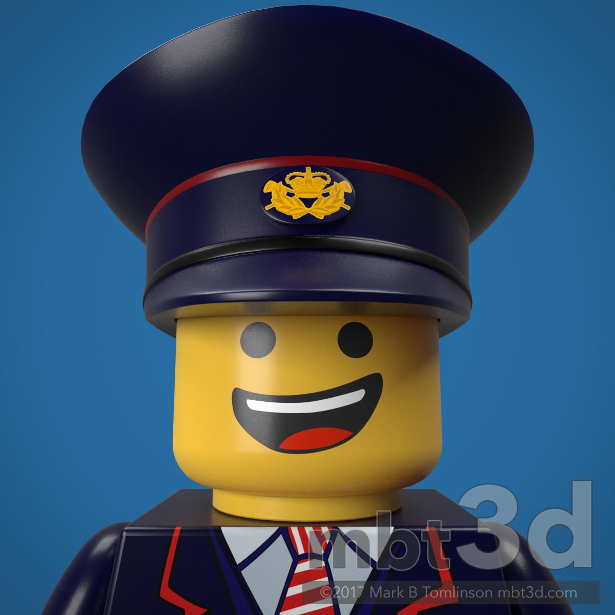 Postman LEGO Minifigure