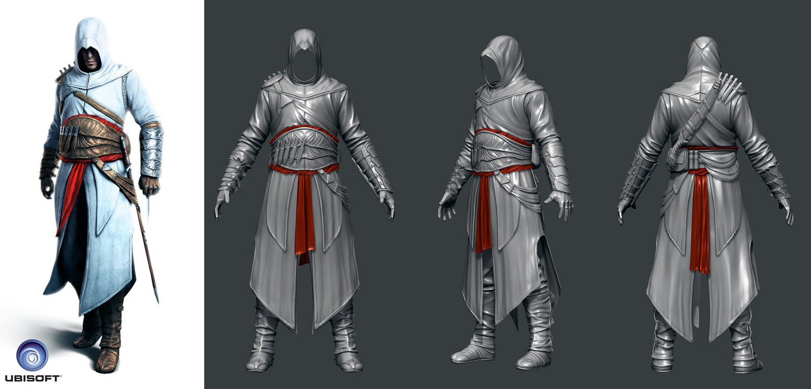 Altair - I modeled the ingame character from Assassin's Creed Revelations