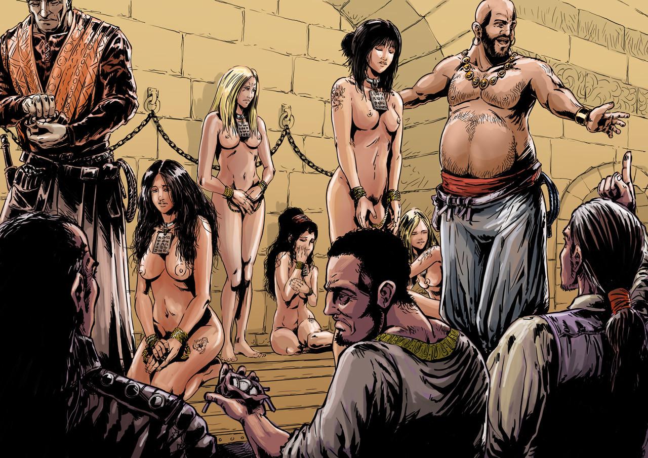 Axelle bouet slave market7