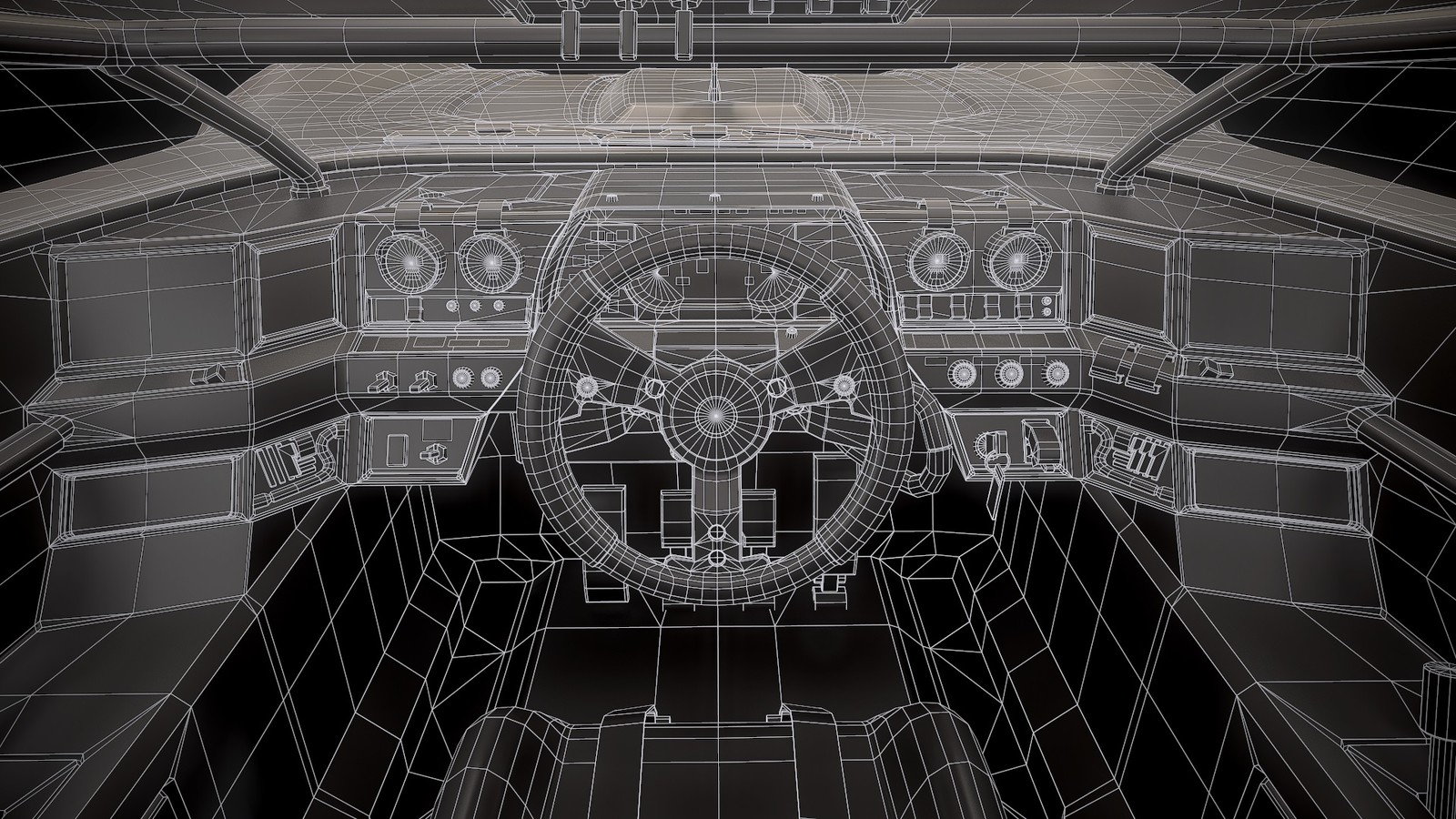 Wireframe Interior