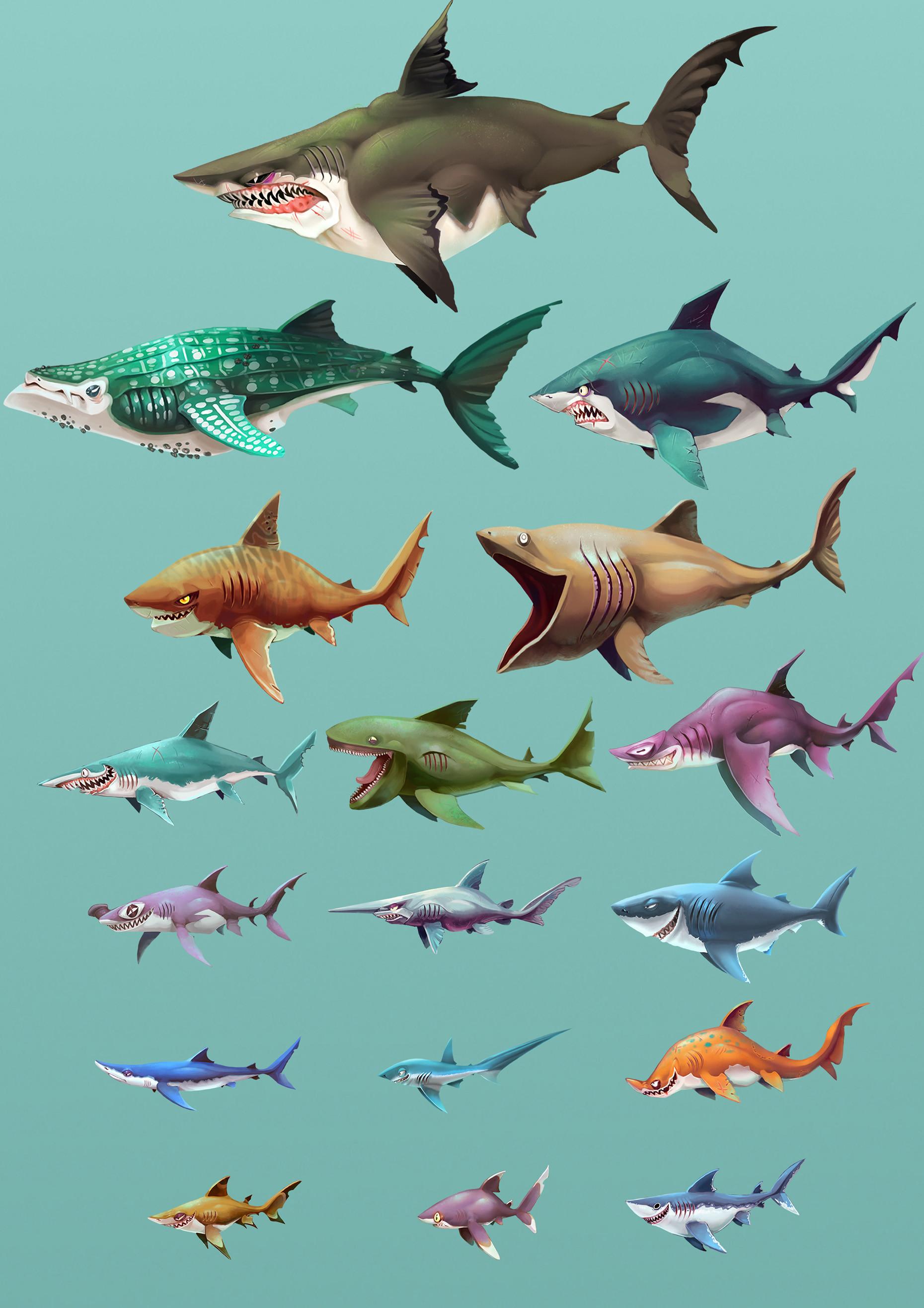 Johanna Cranston - Hungry Shark World - Playable Character Concepts