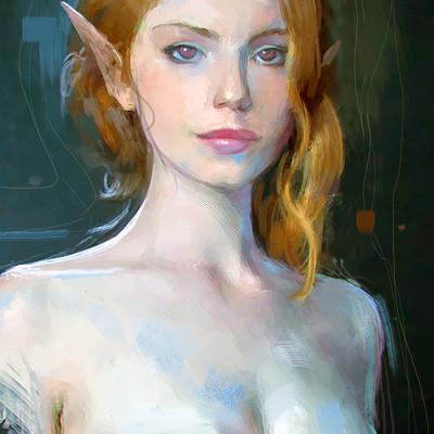 Elfgirl Portrait Study