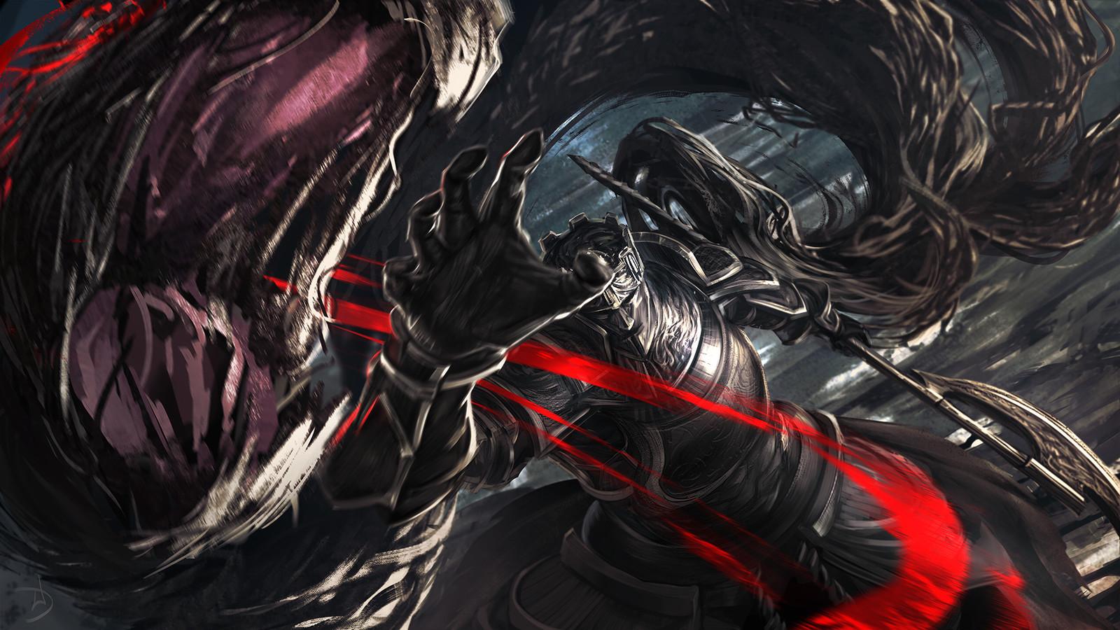 Dark Souls - Gundyr - fanart