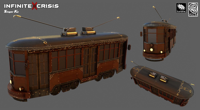Singer ko 10 traincar