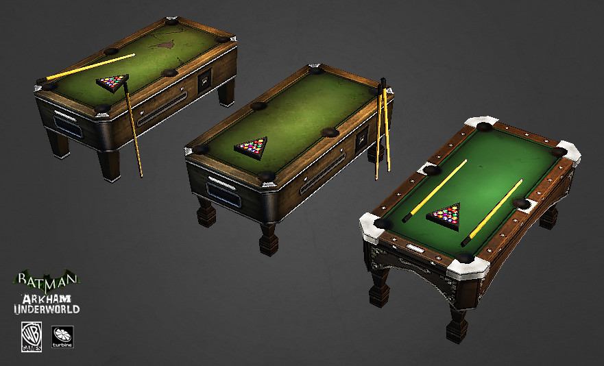 Pool Table Tiers