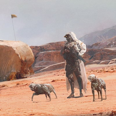 Eve ventrue walking the doges