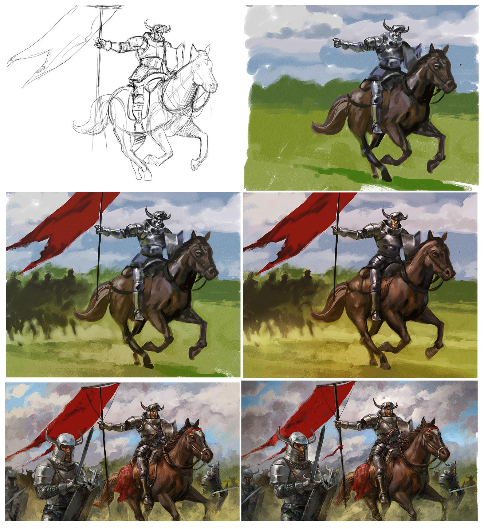 Rafal szlapa knight making off