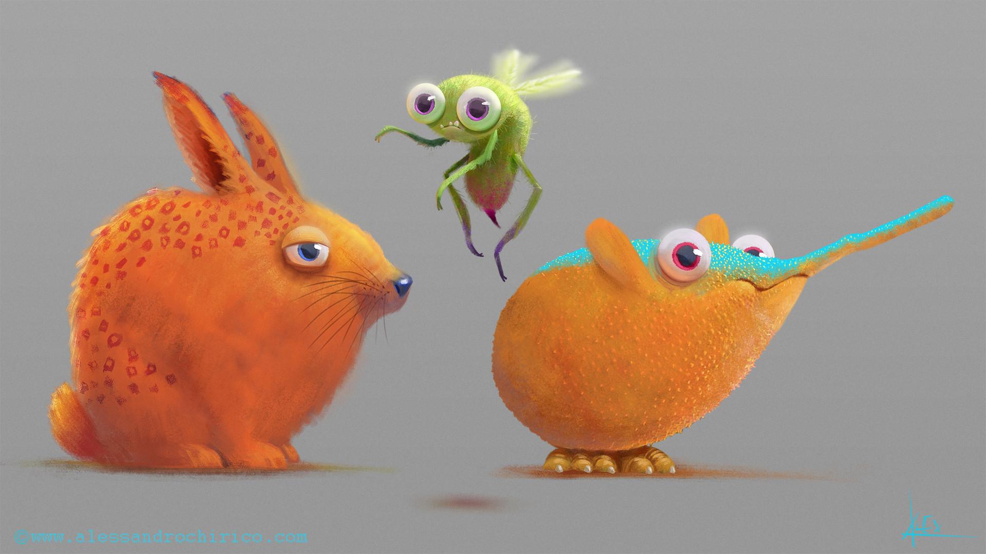 Round Creatures