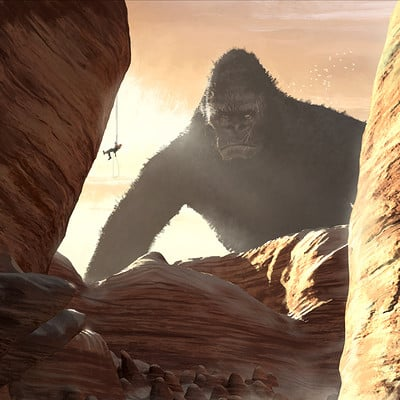 Mack sztaba kong in the desert