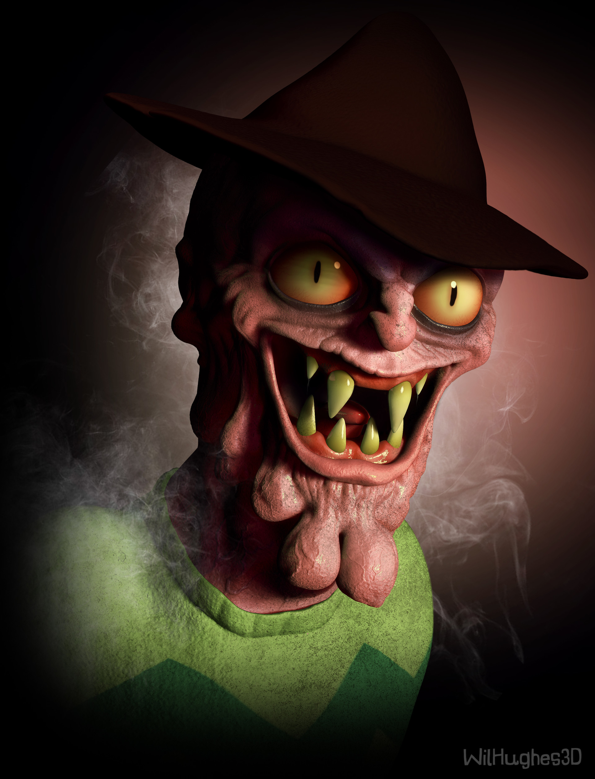 Wil hughes scary terry