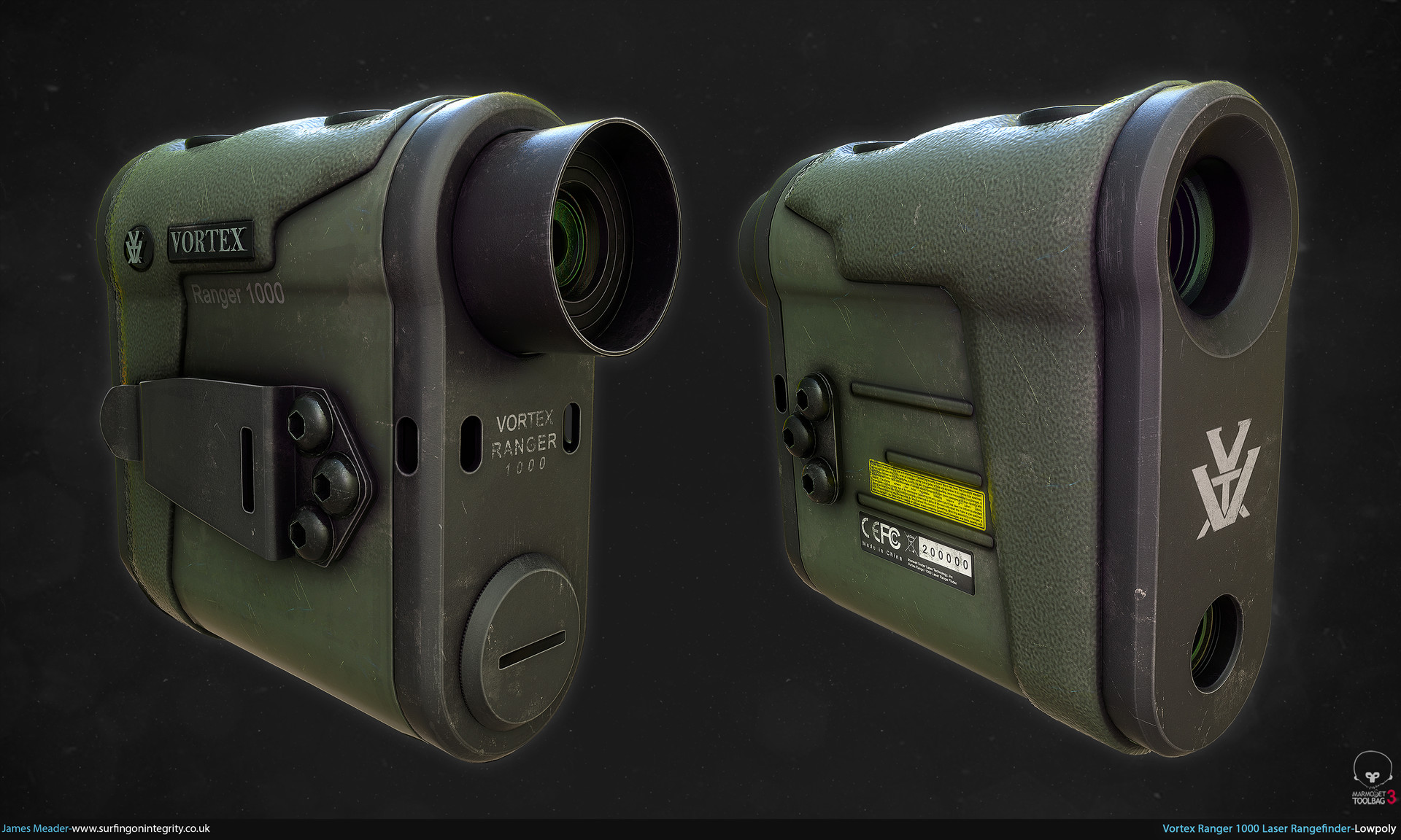 James meader vortex ranger 1000 laser rangefinder lp