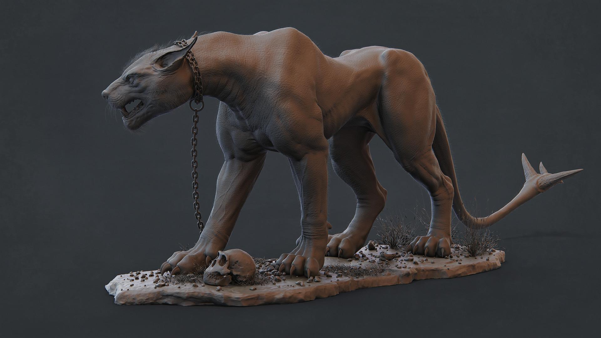 Riyx hasan creature right clay final