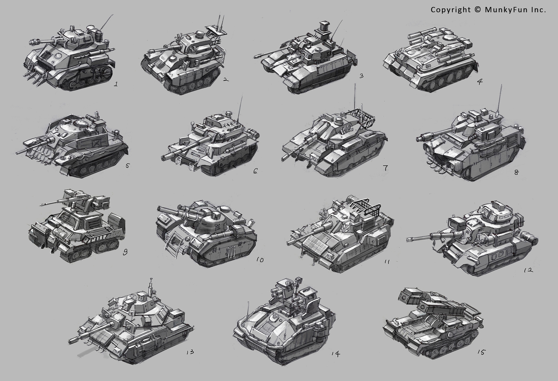 Jessica tung chi lee tank sketches 1