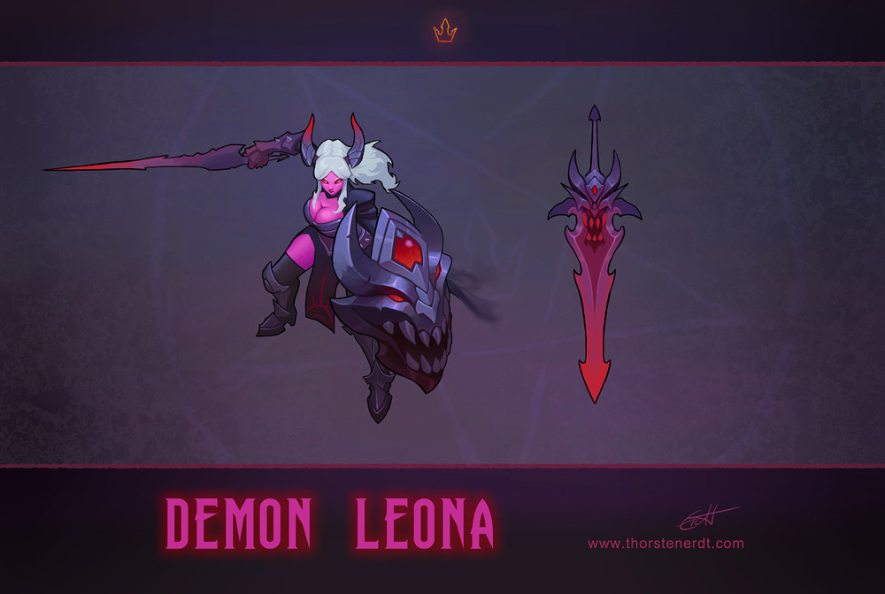 Thorsten erdt demon leona wip4