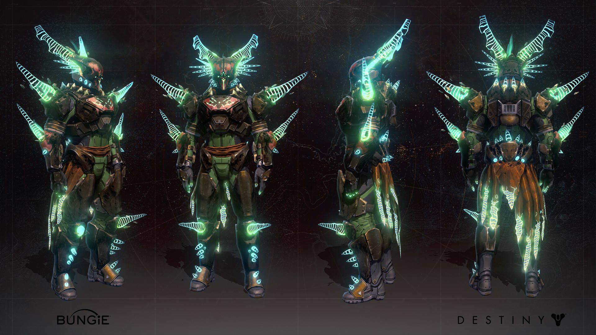 artstation - destiny: age of triumph - titan - willbreaker
