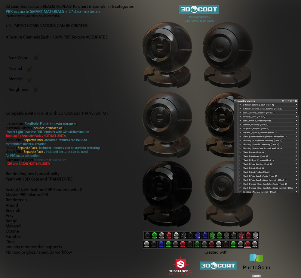 SMART MATERIAL PROCEDURAL - Page 9 - 3DCoat - 3D Coat Forums